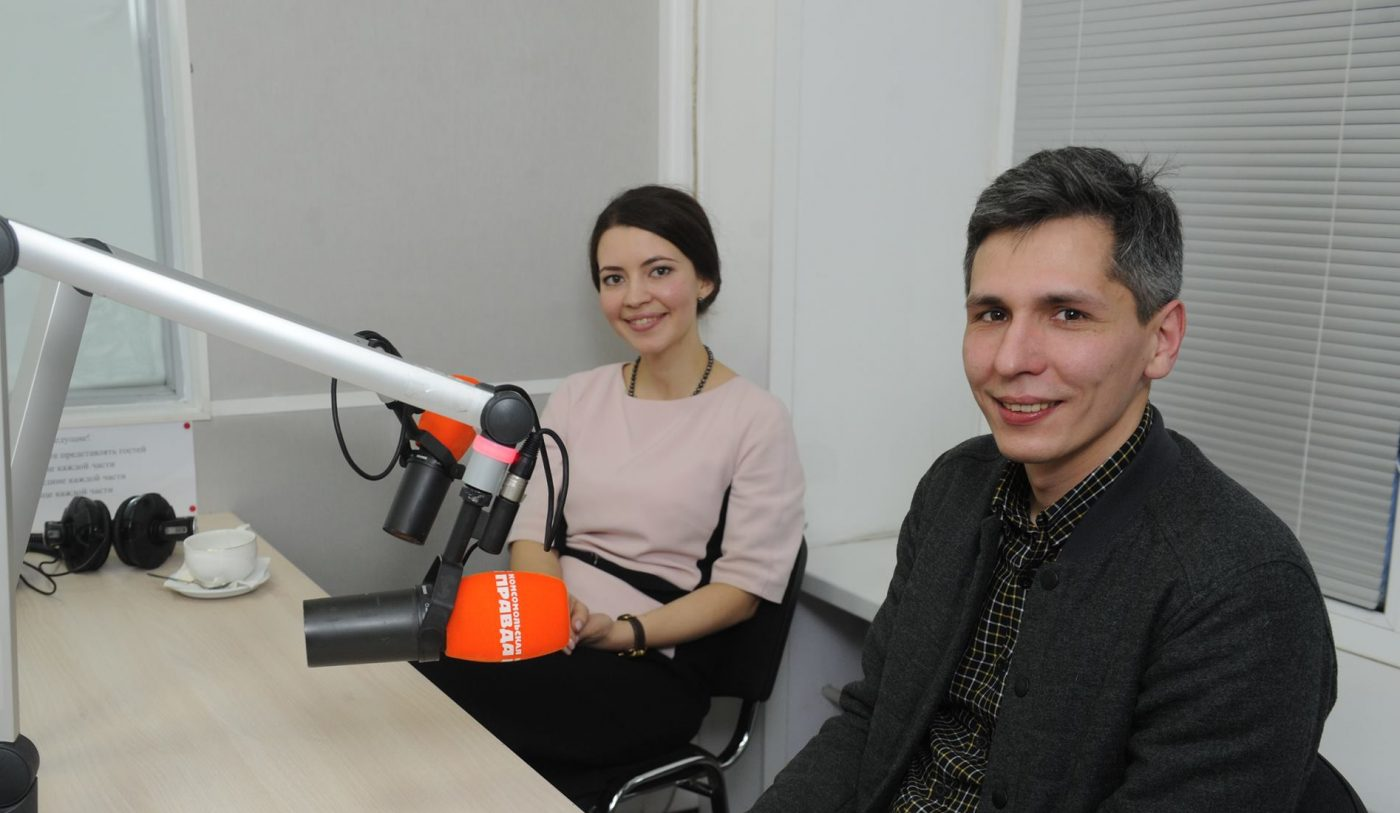 Ecological marathon on radio «Komsomolskaya Pravda»
