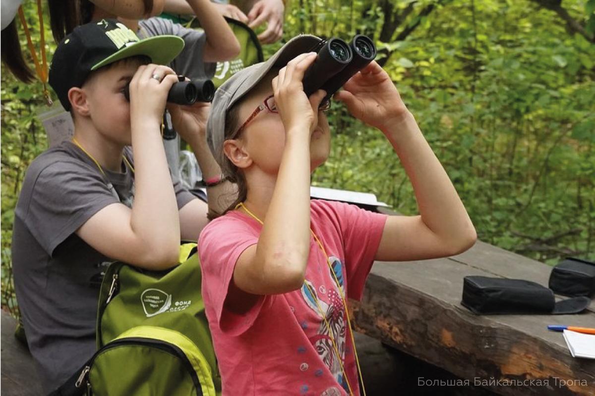 Фонд «Озеро Байкал» и МОО «Большая Байкальская Тропа» подвели первые итоги совместного эколого-просветительского проекта для детей