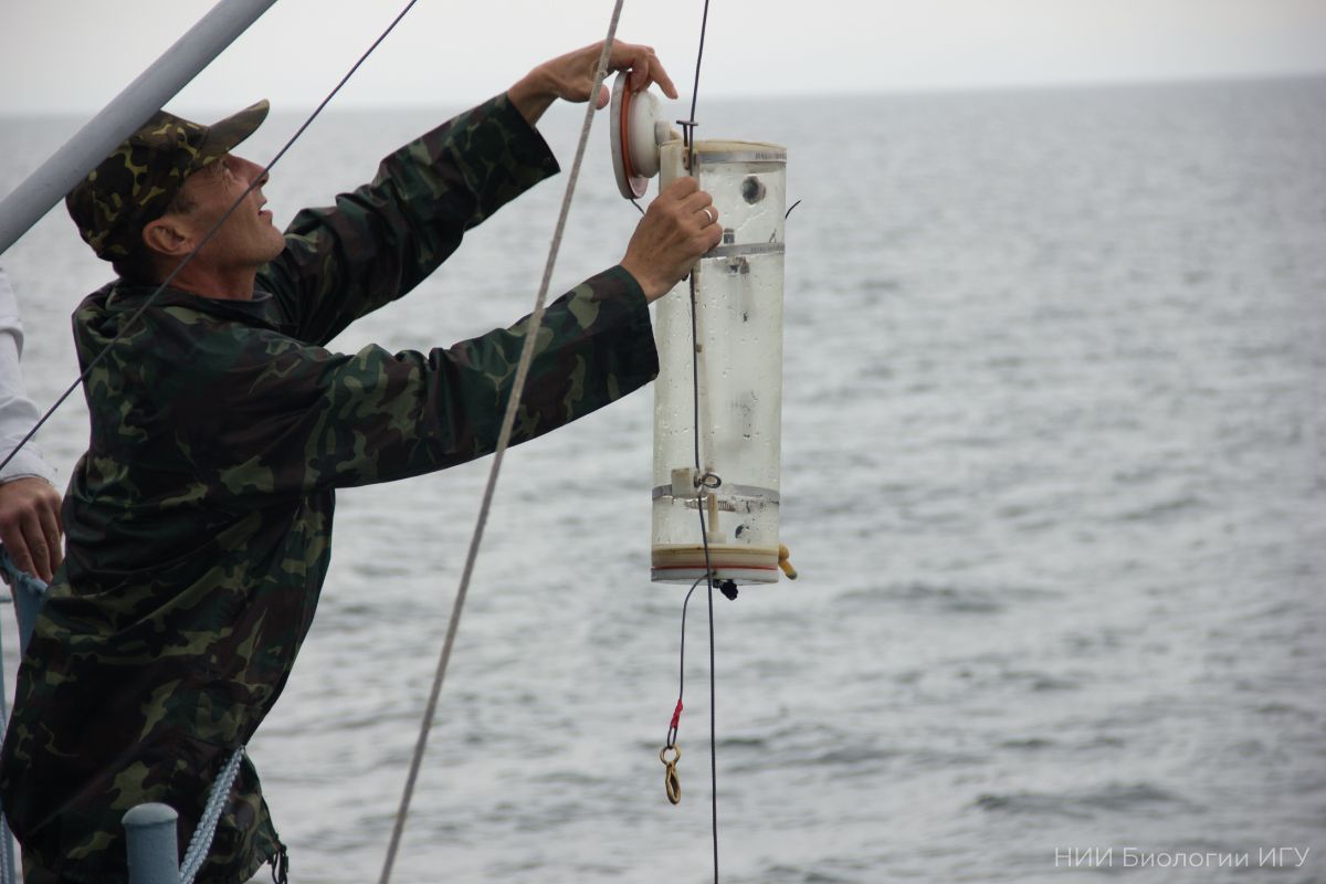 Why is it important to carry out continuous monitoring of plankton in Lake Baikal?