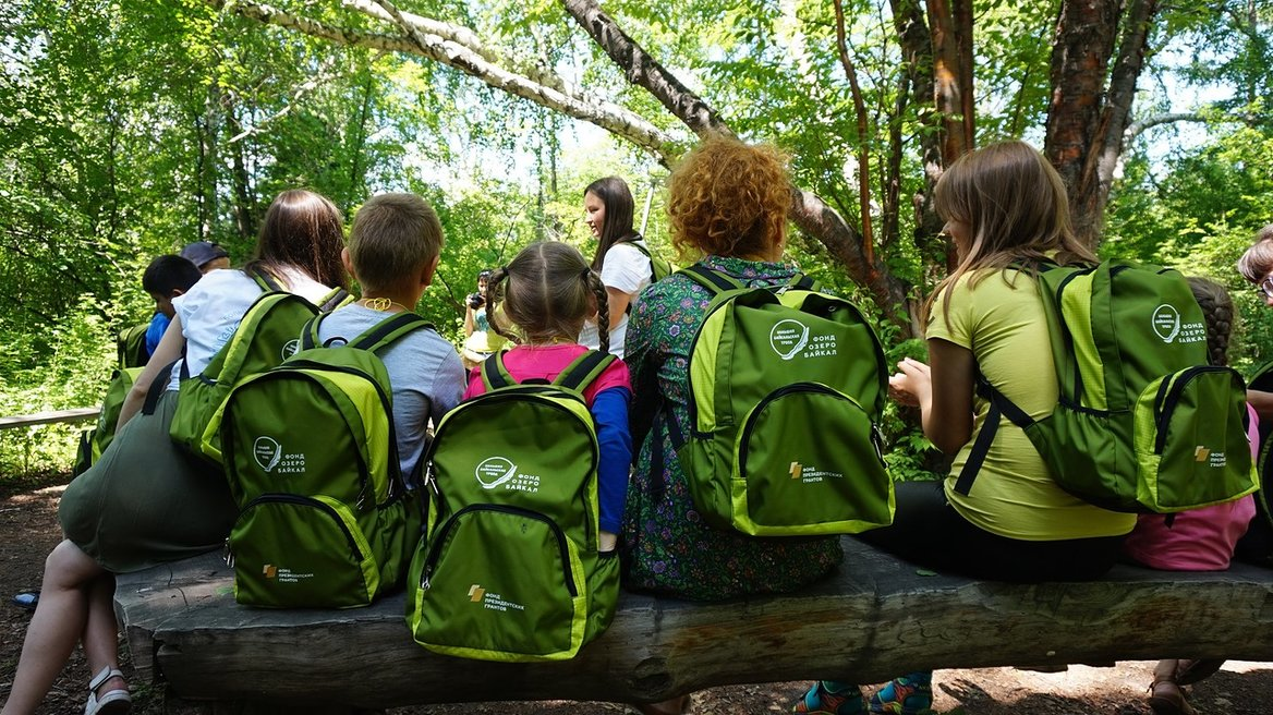 The project «With a backpack on the trail» is the winner of the environmental award named after V.I. Vernadsky