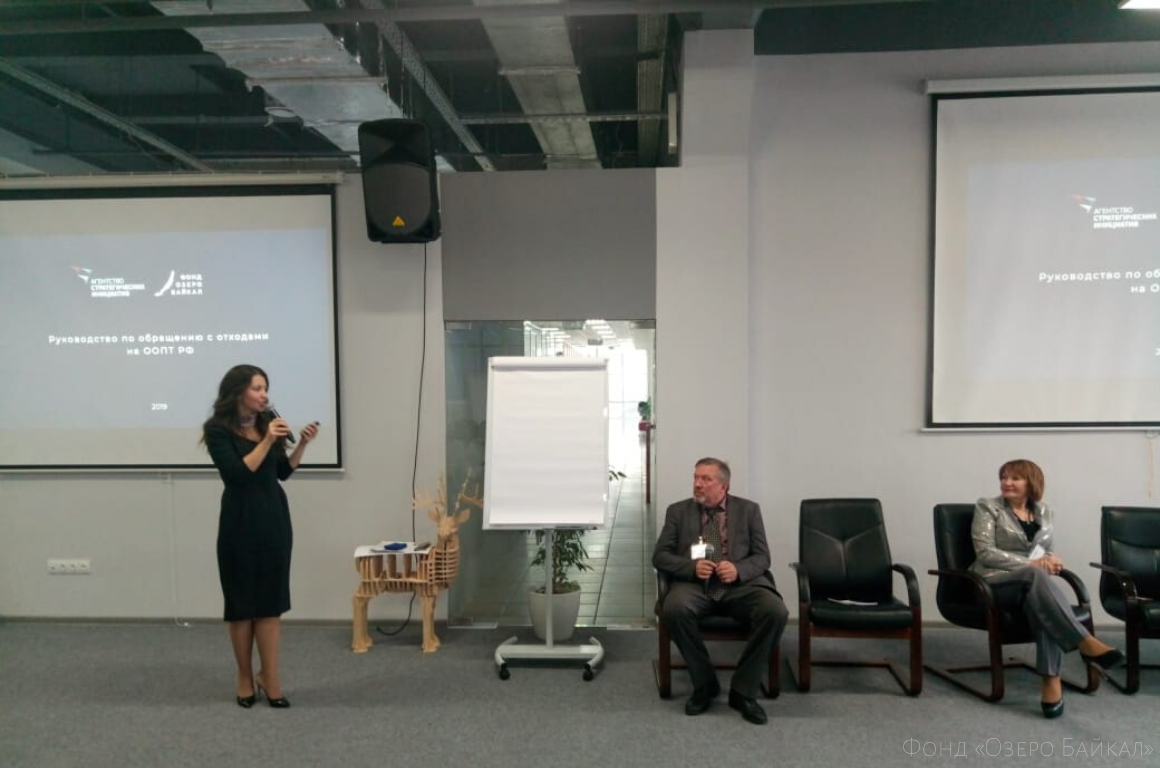 Anastasia Tsvetkova spoke at the opening of «Boiling point» in Krasnoyarsk
