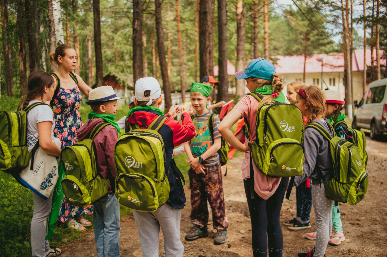 Сomment made by a psychologist on the project «With a Backpack on the Trail»