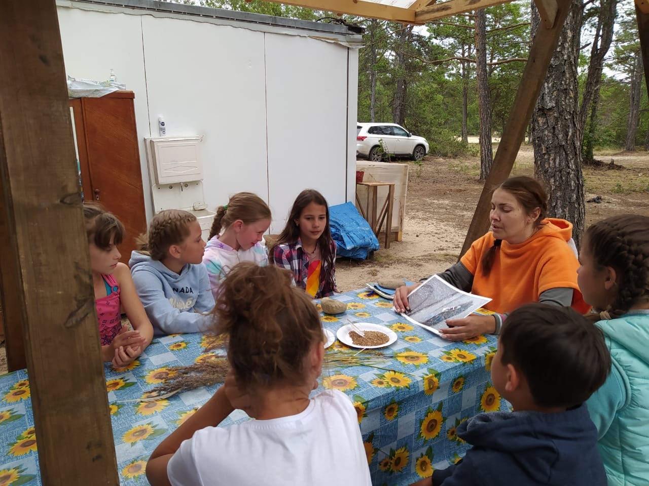 В Забайкальском нац. парке провели экологические мастер-классы